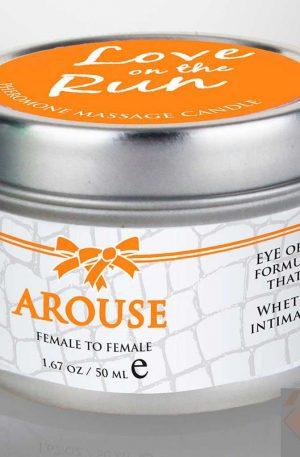 Eye Of Love Pheromone Massage Candle - Arouse (Female To Female)