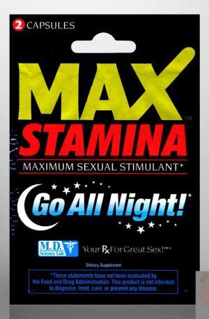 Max Stamina Sexual Enhancer Capsules