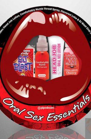 Oral Sex Essentials Sampler Kit
