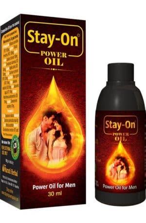 Stay-On Power Oil For Men 30ml