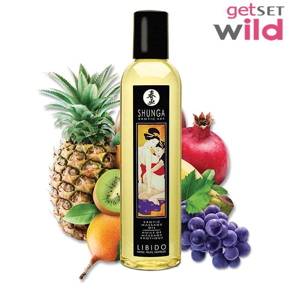 Shunga Erotic Massage Oil Exotic Fruits.1-min