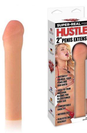 """2"""" HUSTLER XXXTRA GIRTH PENIS EXTENDER"""