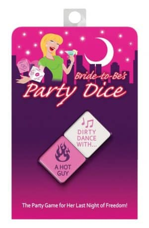 Kheper Games Bride-to-Be's Party Dice