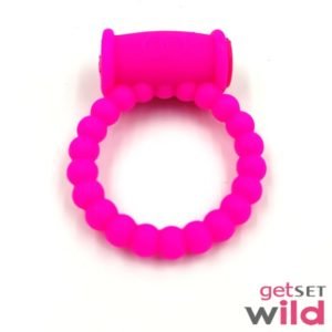 Lovely Vibrating Ring For Male Longer Ring With Chain Of Beads For Extra Fun Beaded