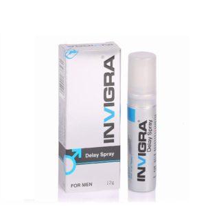 Invigra Delay Spray For Men Long Lastic 12Gm