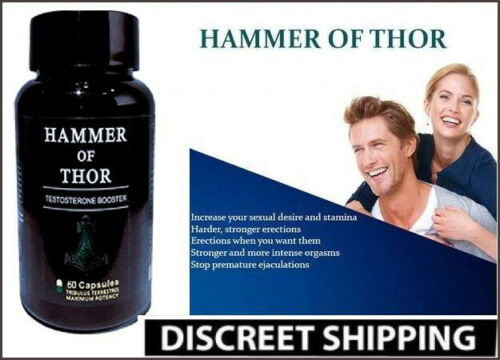 Hammer Of Thor Ultra Strong Supplement Booster For Male - 60 capsules