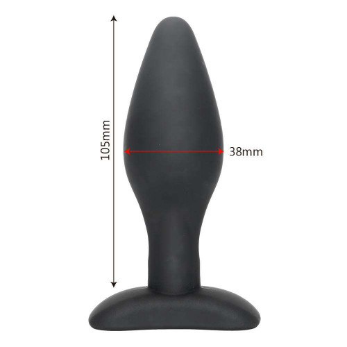 Silicone Anal Plug Smooth Butt Sex Toy